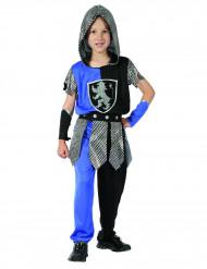 Sininen ritarin naamiaisasu lapsille