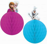 2 ripustettavaa Frozen™ -koristetta
