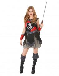 Keskiaikainen ritari -asu naisille
