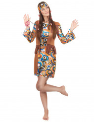 Rauhaa ja rakkauta - Värikäs hippimekko