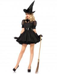 Naisten Halloween noita-naamiaismekko