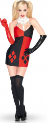 Naisten naamiaisasu superpahis Harley Quinn™