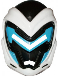 Lasten PVC-naamio Max Steelin™ kypärällä