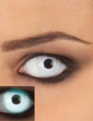 Valkoiset UV-piilolinssit aikuisille 1 kk