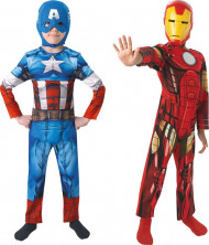 Kapteeni Amerikka & Iron Man™ -naamiaisasusetti lapsille