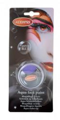 Liila vesiliukoinen meikkiväri 14 g
