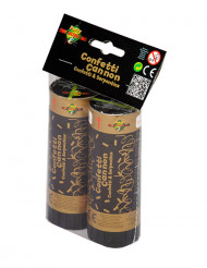 Kultaiset konfettikanuunat, 2 kpl