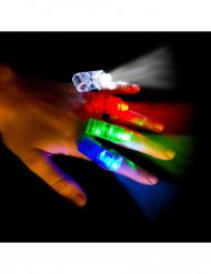 4 LED-valoa sormille