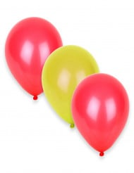 Ilmapallot Espanjan väreissä 27 cm - 12 kpl