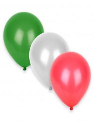 12 ilmapalloa Italian väreissä