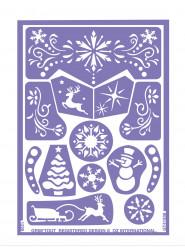 Uudelleenkäytettävä lumiprinsessan meikkisabluunapakkaus - Grim