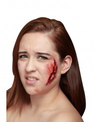 Kauhea haava - Tekohaava Halloweenjuhliin