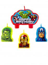 Avengers™ kynttilä 4kpl