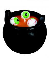 Silmäkeitto - Halloween kynttilä