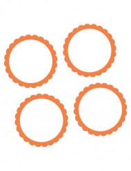 Oranssit etikettitarrat 20 kpl