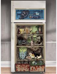 Zombien jääkaappi - Halloween koriste jääkaapin oveen