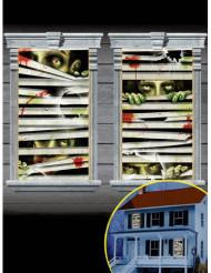 Zombien ikkunakoriste 2kpl