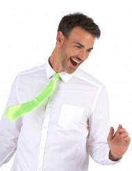 Neonvihreä kravaatti