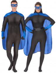 Siniset supersankarin tarvikkeet aikuisille