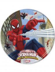 Hämähäkkimies™-pahvilautaset 8 kpl