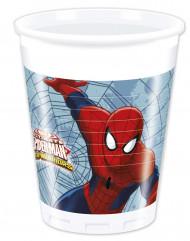 Spiderman™-muovimukit synttärijuhliin 8 kpl