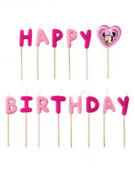 Happy Birthday -kakkukynttilät 13 kpl - Minni Hiiri™