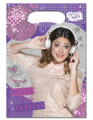 Muoviset lahjapussit Violetta™ - 6 kpl