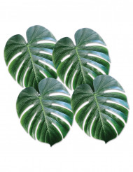 Muoviset palmunlehdet 4 kpl