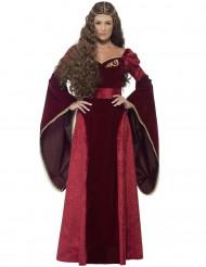Keskiaikainen kuningatar -asu aikuisille