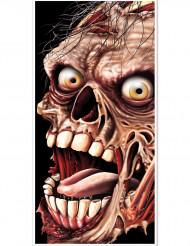 Oven koristepäällinen zombiaiheisella kuvalla - Halloween