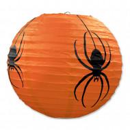 Oranssit hämähäkki- paperilyhdyt 3 kpl