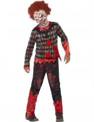Zombiepellen naamiaisasu lapselle