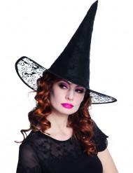 Pitsikoristeltu noidan hattu aikuisille - Halloween