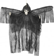 Musta Halloween enkeli
