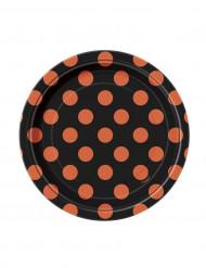 Pieni pilkullinen lautanen (8kpl) 17cm
