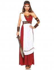 Roomalaisen naissoturin naamiaisasu aikuiselle