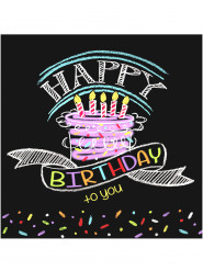 Happy Birthday -servetit, 16 kpl