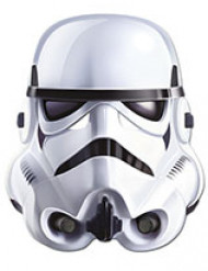 Matalareunainen kartonkinaamio aikuisille Stormtrooper - Star Wars ™