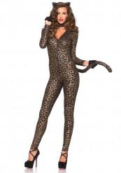 Seksikäs leopardi - Naisten naamiaisasu aikuisille