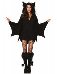 Naisten Halloween lepakko naamiaispuku