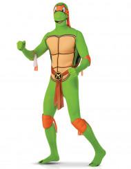 Turtles Michelangelon™ second skin -haalari aikuiselle