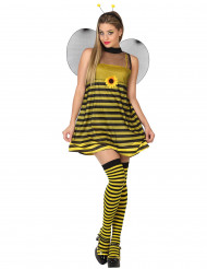 Flirtailleva mehiläinen - Naamiaisasu naisille