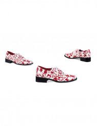 Valkoiset veriset kengät aikuisille