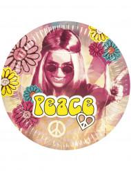 Pahvilautanen Peace 6 kpl