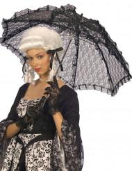 Musta pitsinen päivänvarjo