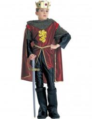 Keskiaikaisen kuninkaan naamiaisasu lapselle