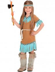 Sinertävä intiaanimekko lapsille