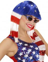 Naisten Miss America peruukki