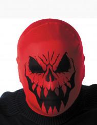 Punaisen monsterin huppu aikuiselle halloween