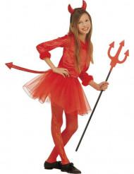 Paholaisen mekko - Naamiaisasu tytölle halloweeniin